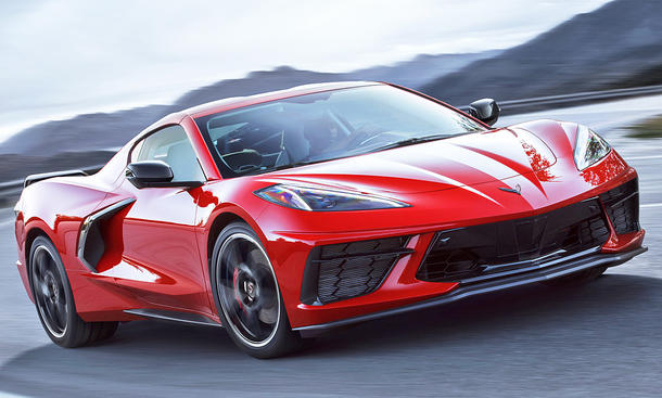 Corvette C8: not yet with us and already a facelift
