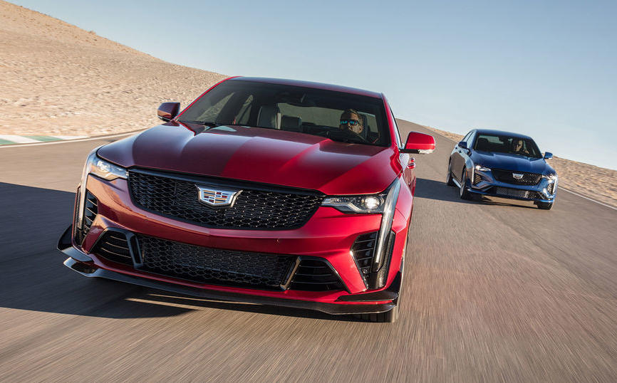 Neu in den USA: Cadillac CT5-V Blackwing und CT4-V Blackwing
