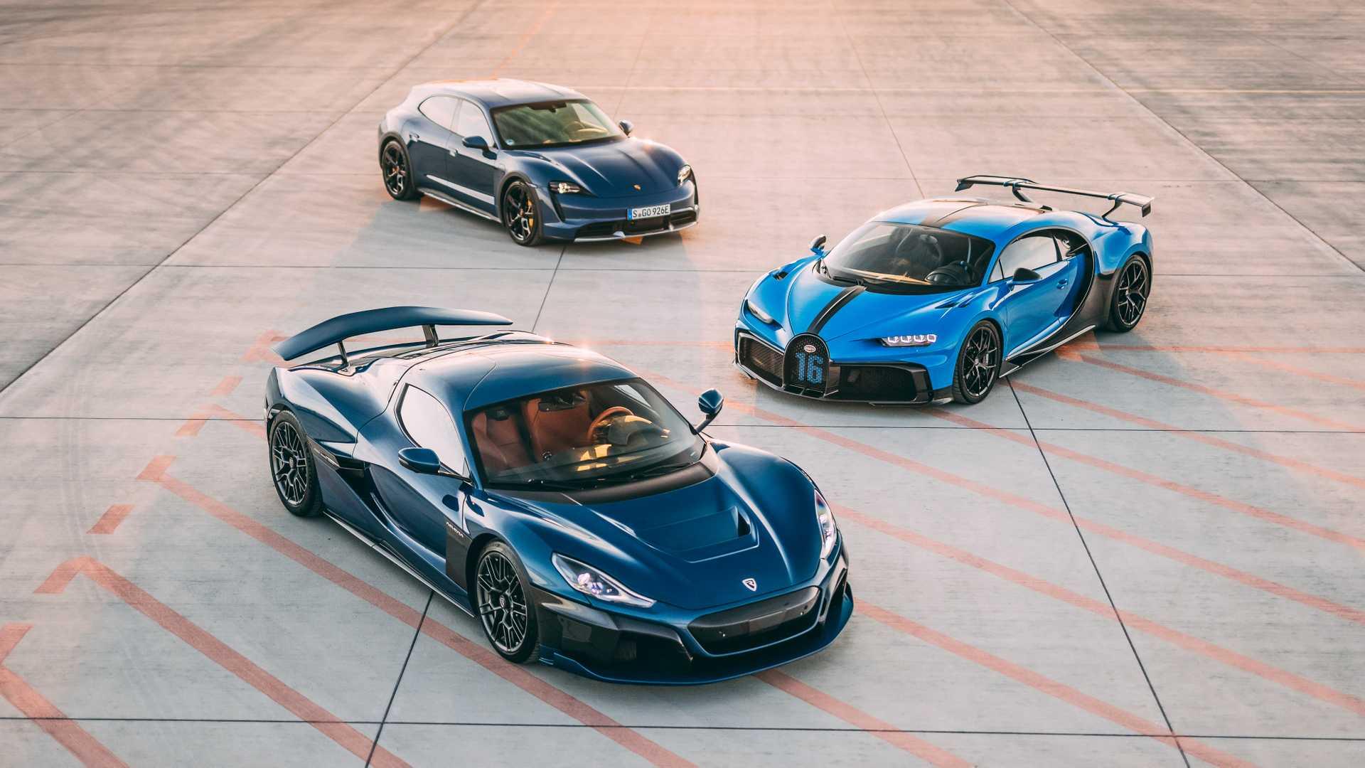 Rimac übernimmt Mehrheit von Bugatti - Joint Ventures